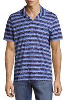 Michael Bastian Striped Cotton Polo