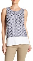 Joe Fresh Eyelet Shell Tank