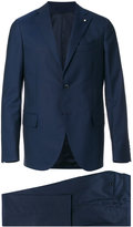 Lardini formal suit - men - Cotton/Cupro/Viscose/Wool - 48