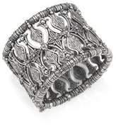 Konstantino Penelope Sterling Silver Etched Cuff Bracelet