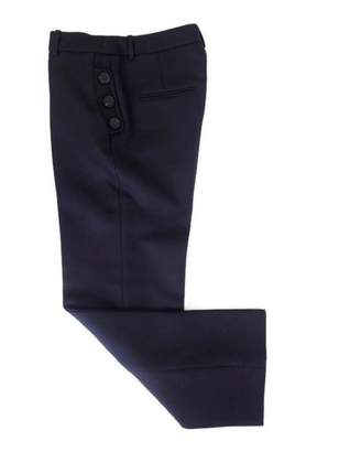 Christian Dior Blue Wool Trousers