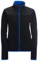 Aeropostale Womens Solid Full-Zip Fleece Jacket