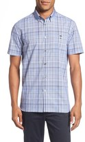 Ted Baker 'Assembly' Trim Fit Plaid Sport Shirt
