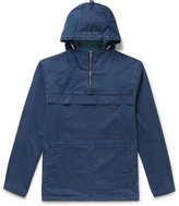 Sport ID Hooded Half Zip Anorak