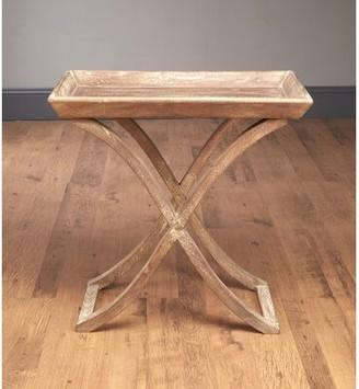 Alcott Hillâ® Edgao Tray Table Alcott HillA Color: Weathered Gray