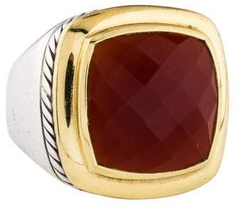David Yurman Carnelian Albion Ring