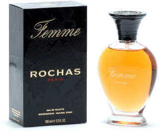 Rochas Femme for Ladies Eau de Toilette Spray, 3.3 oz./97.6 mL