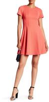 Rebecca Taylor Short Sleeve Pique Dress