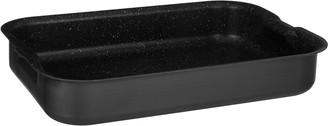 John Lewis & Partners Hard Anodised Aluminium Non-Stick Roaster with Handles, Grey, 41cm