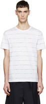 Alexander Wang White Scribble T-Shirt