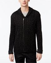 Retrofit Men's Zip-Up Shawl-Collar Sweater