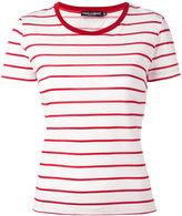 Dolce & Gabbana breton stripe T-shirt - women - Cotton - 46