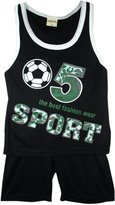 Generic Sports Summer Shorts Boys New Girls Top Vest Kit Set Size Age 3-10 Years Bnwt