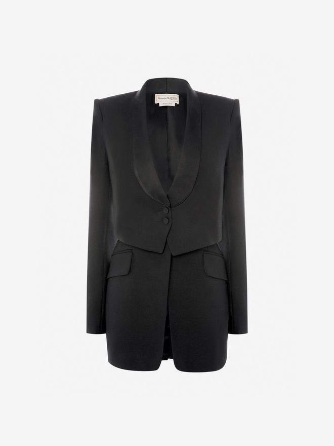 Alexander McQueen Trompe L'Oeil Tuxedo Jacket