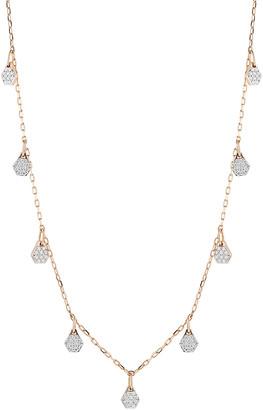 Rosegold Walters Faith Dora Diamond-Charm 18K Rose-Gold Necklace