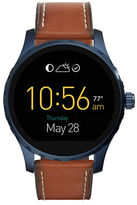 Fossil Q Marshal Leather Strap Touch Screen Smart Watch