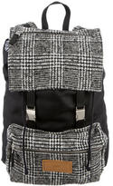 Ami Alexandre Mattiussi Houndstooth Knit Backpack