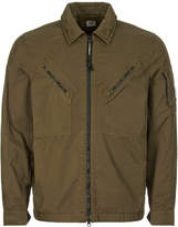 Cp Company Overshirt Dusty Olive