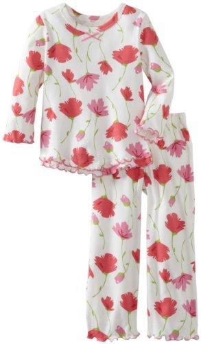 Sara's Prints Girls 2-6X Ruffle Top And Pant
