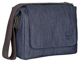 Lassig Infant 'Small Green Label' Diaper Messenger Bag - Blue