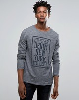 Tommy Hilfiger Long Sleeve Top New York Logo Regular Fit