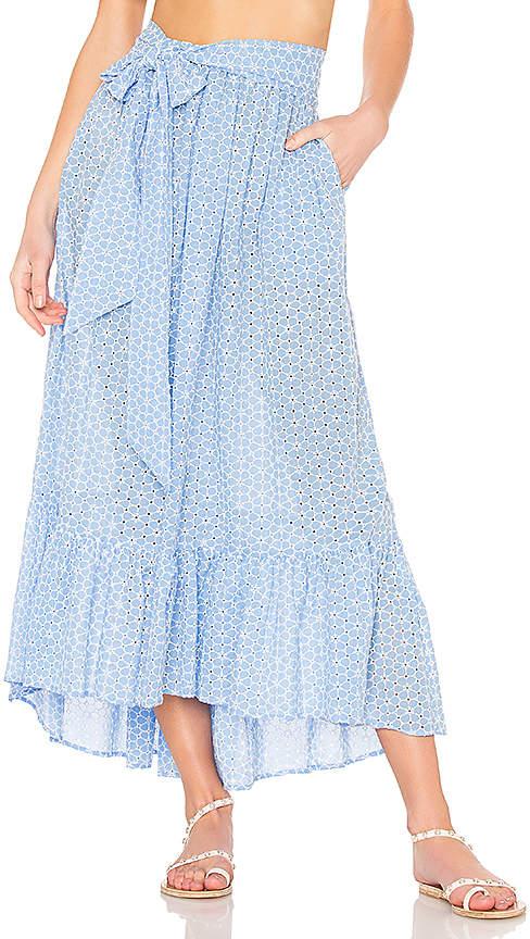 Lisa Marie Fernandez Nicole Maxi Skirt