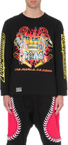 Kokon To Zai Pinball cotton-jersey top