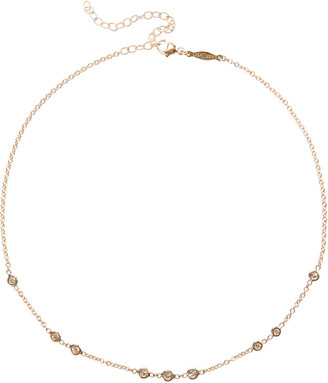 Jacquie Aiche 1x2x3 Diamond Choker Necklace