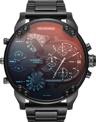 Diesel Men's Analog Quartz Watch with Stainless Steel Strap DZ7395