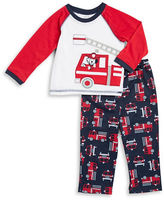 Little Me Fire Truck Pajama Set