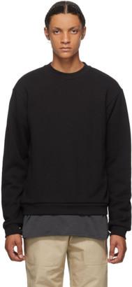 John Elliott Black Beach Crew Sweatshirt