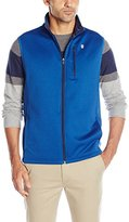 Izod Men's Spectator Solid Fleece Vest