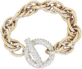 One Kings Lane Vintage Jomaz Pavé Toggle Clasp Bracelet