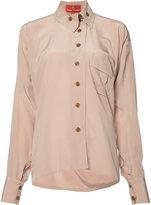 Vivienne Westwood Squiggle Krall shirt - women - Silk - 40