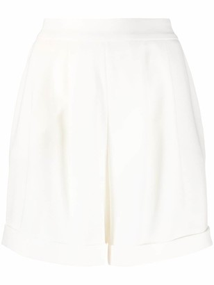 Hebe Studio Front Pleated Tailored Shorts