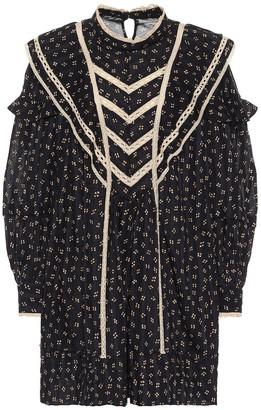 Etoile Isabel Marant Rebel printed cotton minidress