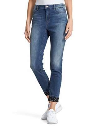 Marc Cain Women's's Straight Jeans (gerades Bein)W26/L32 (Manufacturer's size: 1)