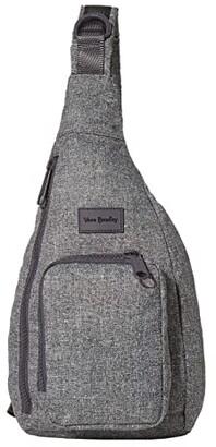 Vera Bradley ReActive Mini Sling Backpack (Gray Heather) Backpack Bags