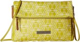 Petunia Pickle Bottom Glazed Crossover Clutch Electric Citrus Clutch Handbags