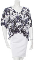 Stella McCartney Abstract Floral Top