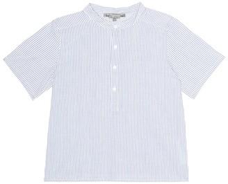 Bonpoint Cesar striped cotton shirt