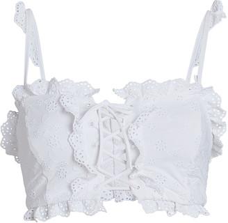Bondeye Frill Seeker Bustier Bikini Top
