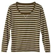 Petit Bateau Womens sailor-striped cotton sweatshirt