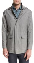 Peter Millar Collection Mirabeau Water-Repellant Merino Wool Field Jacket