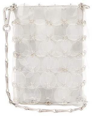 Paco Rabanne Sparkle 1969 Mini Sequinned Cross-body Bag - Clear