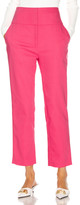 GRLFRND Cameron Trousers in Bright Pink | FWRD