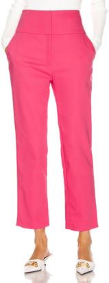GRLFRND Cameron Trousers in Bright Pink   FWRD