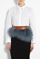Acne Worth Oxford Tux White Shirt