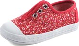 Toms Tiny Zuma Red Canvas Ditsy Floral 10008997 Tiny 8