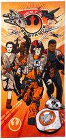 Star Wars Episode 7 The Force Awakens Heroes Beach Towel